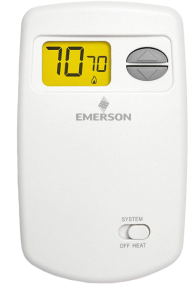 Emerson 1E78-140 Non-Programmable Heat Only Thermostat