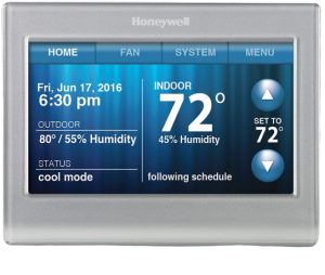 Honeywell RTH9580WF Wi-Fi Smart Touchscreen Thermostat