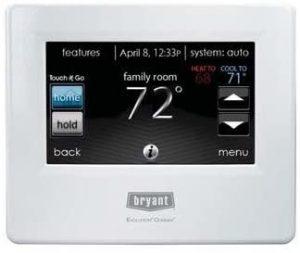 Bryant Evolution Connex Contro