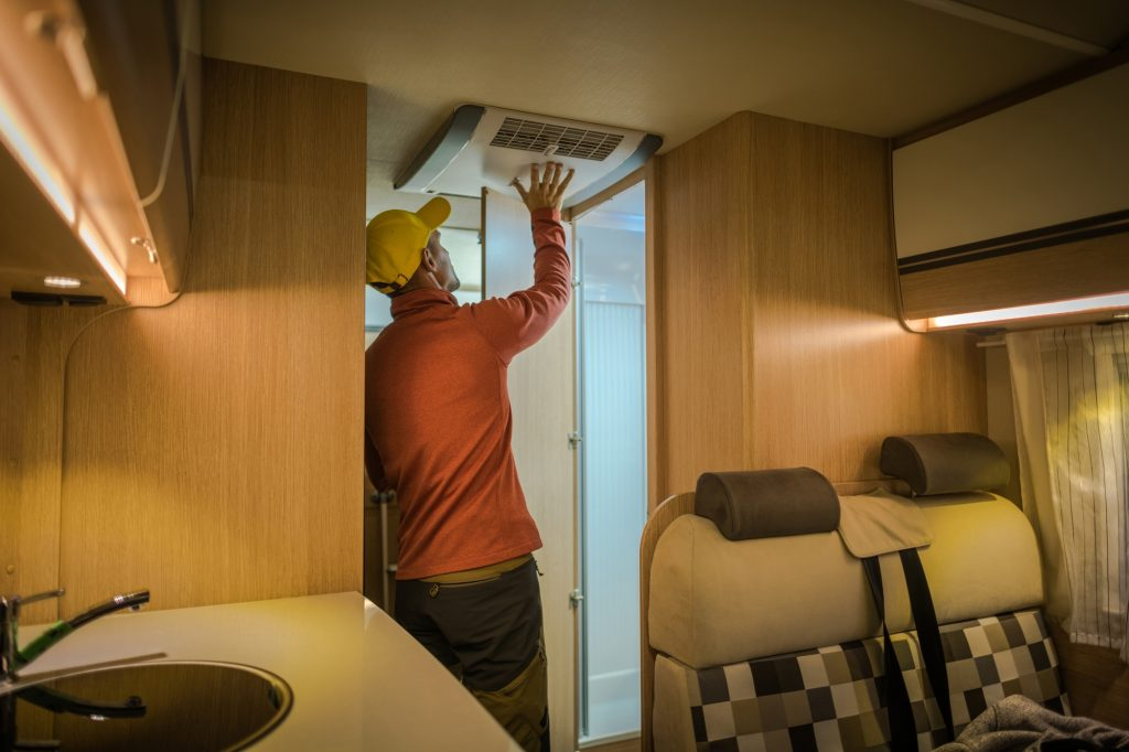 RV Air Conditioner Silencer