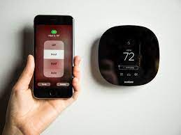 smart-thermostat-receive-instructions-from-a-smartphone-app